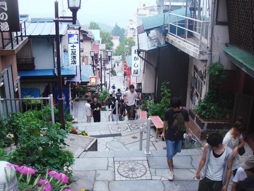 平成20年度実習旅行 伊香保温泉都市計画